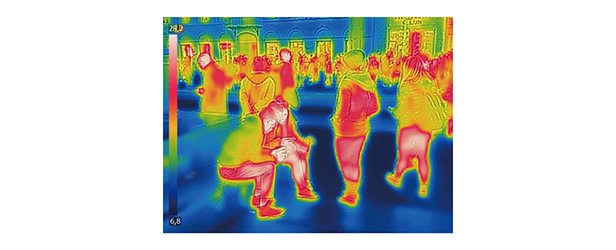 OTS fever detection thermal cam image